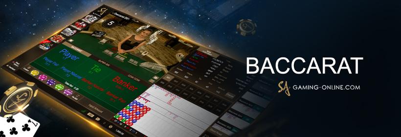 แนะนำเกมค่ายเกมเล่น บาคาร่าออนไลน์ Sa Gaming เจ้าแห่งเกมคาสิโนสด